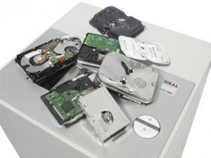 multiple hard drives destroyed